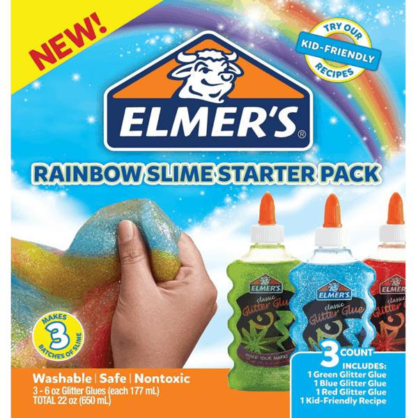 Elmer's Rainbow Slime Starter Kit Only .94