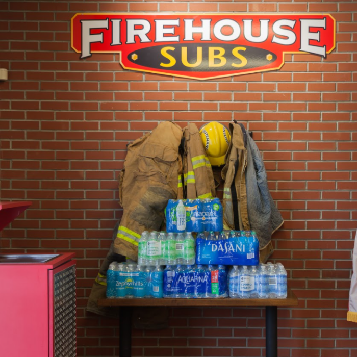 FREE Medium Sub at Firehouse for Donating Water