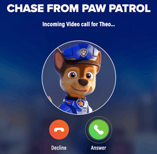 FREE Personalized Video Call from Paw Patrol + Watch the Movie for FREE