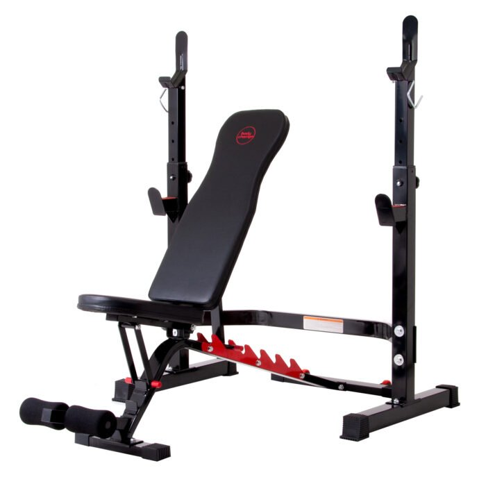 Body Champ Olympic Weight Bench with Rack Only 6.82