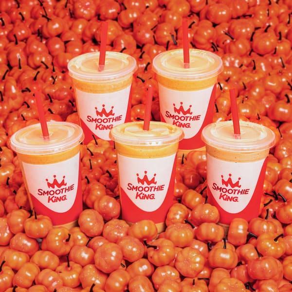 FREE Pumpkin Smoothie at Smoothie King