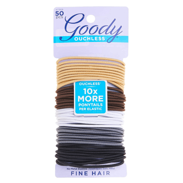 Goody Ouchless Elastic Hair Tie 50 Count Now .84 (Retail .17)
