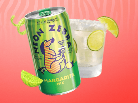 FREE Sample of Neon Zebra Margarita Cocktail Mixer