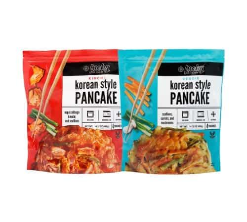 Possible Free Ocean's Halo Seaweed Snacks and Lucky Foods Korean Pancakes