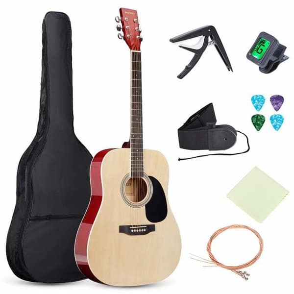 SKONYON 41-inch all-Wood Acoustic Guitar Only .95