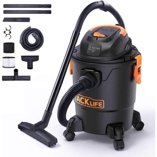 TACKLIFE Wet/Dry 5 Gallon Shop Vacuum .99