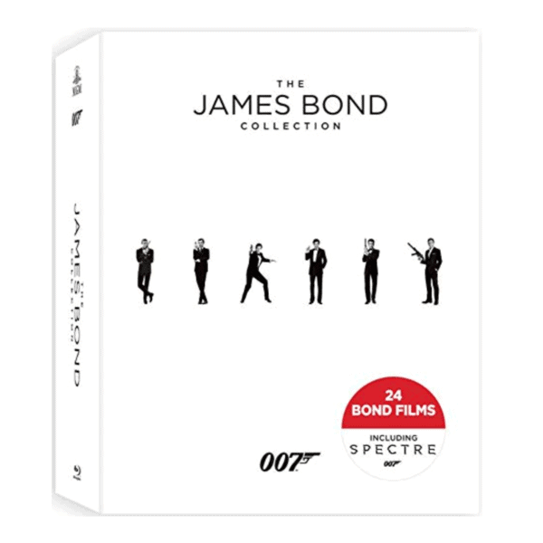 The James Bond Collection Blu-ray Only .99 (Retail 4.99)