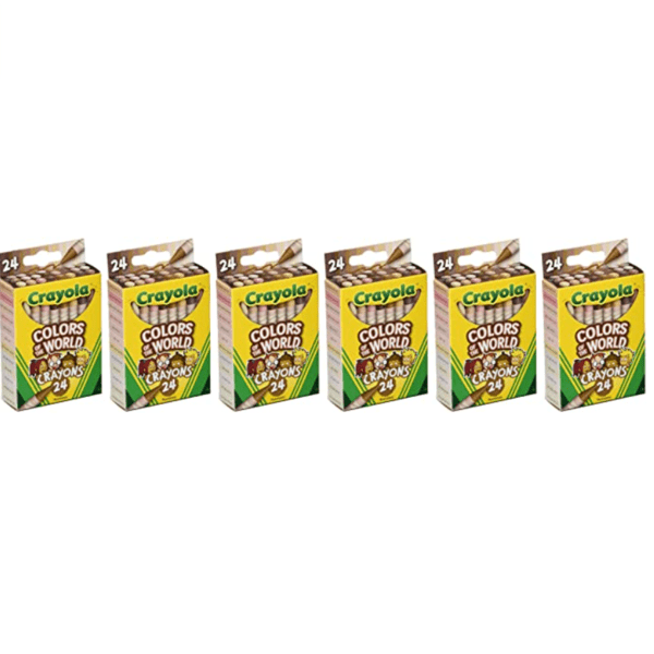 Crayola Colors of The World Skin Tone Crayons 6 Boxes Only .57 (Retail .49)