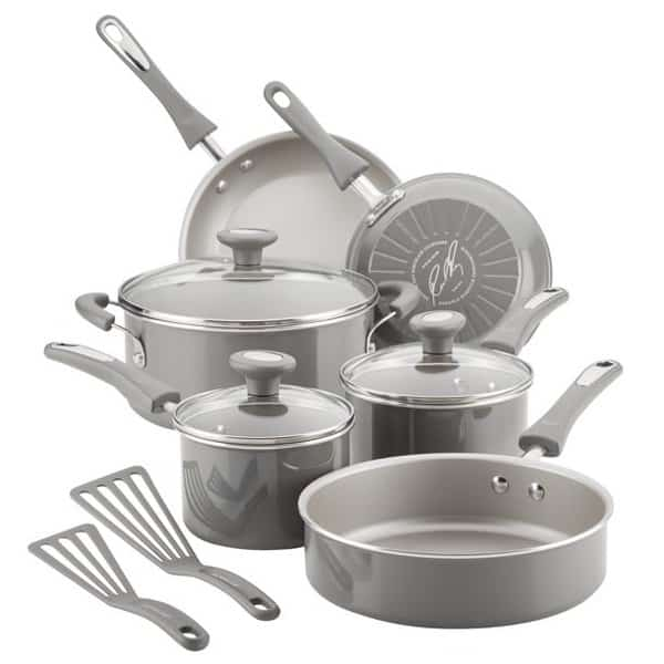 Rachael Ray 11-Pieces Non-Stick Pots and Pans Set Only .94