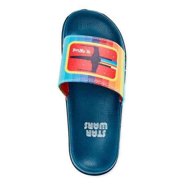 Star Wars Boys X-Wing Slide Sandals Only .99 (Retail .99)