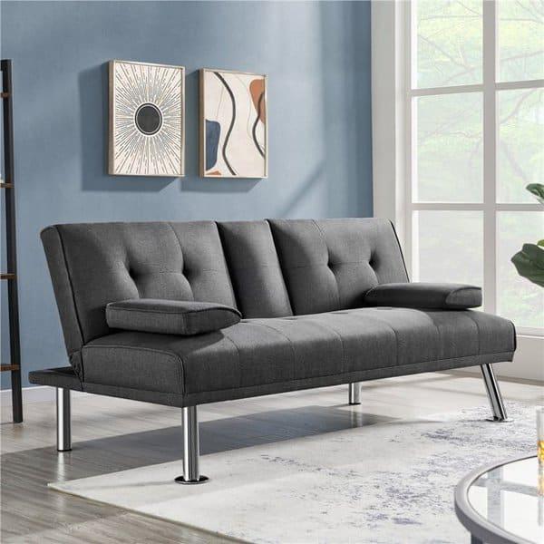 Easyfashion Folding Futon Sofa Bed Only 2.50
