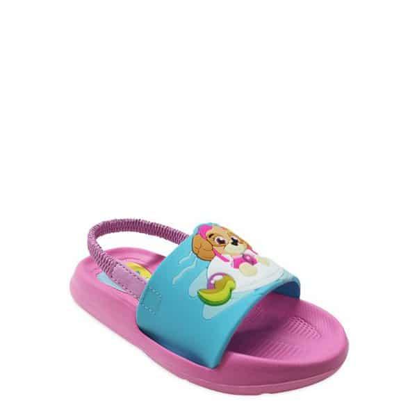 Nickelodeon Paw Patrol Pool Floatie Slide Sandal Only .99