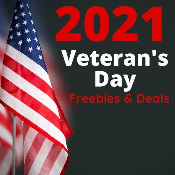 Veteran's Day Freebies & Deals for 2021