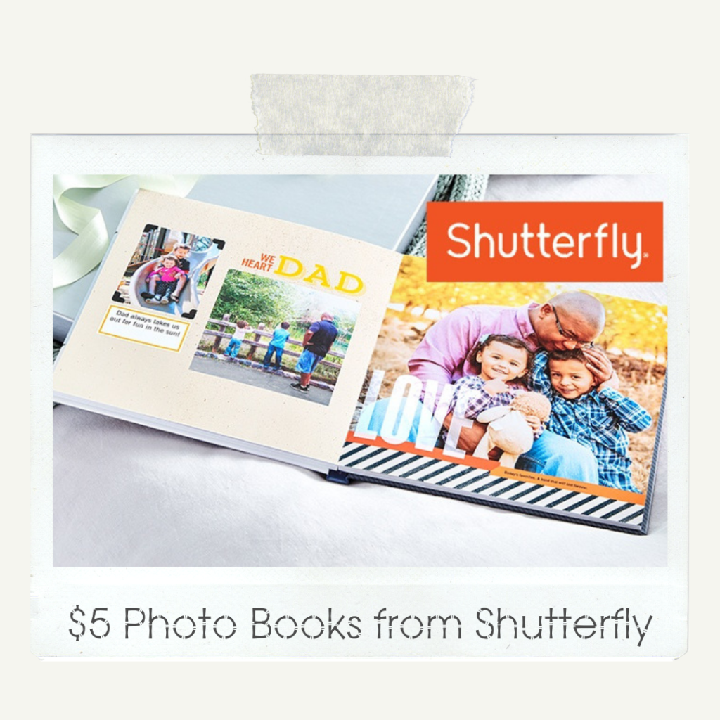 $5 Photo Books from Shutterfly