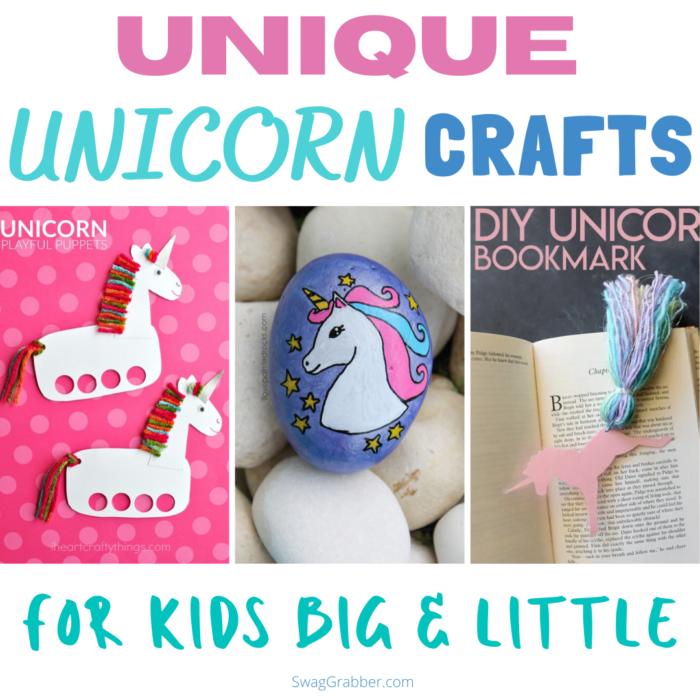 Unicorn Crafts for Kids