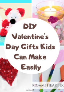DIY Valentines' Day Gifts Kids Can Make Easily