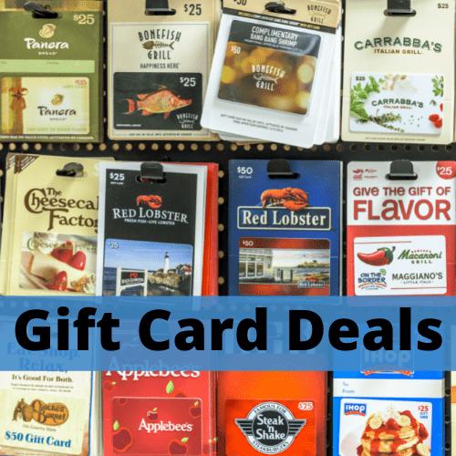 Gift Card Deals
