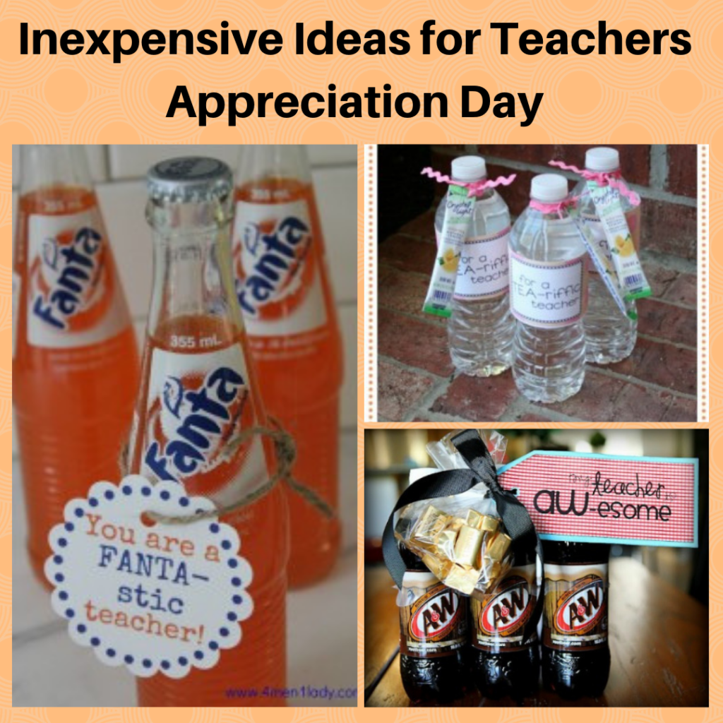 Inexpensive Ideas for Teachers Appreciation Day