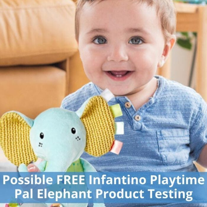 Possible FREE Infantino Playtime Pal Elephant Product Testing