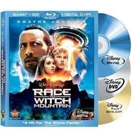 Race to Witch Mountain (Three-Disc Edition- Blu-ray:DVD:Digital Copy)