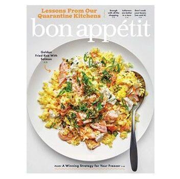FREE 1-year subscription to Bon Appetit Magazine