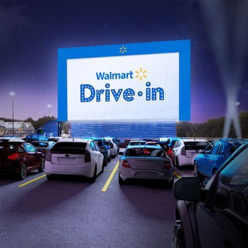 Walmart Drive in