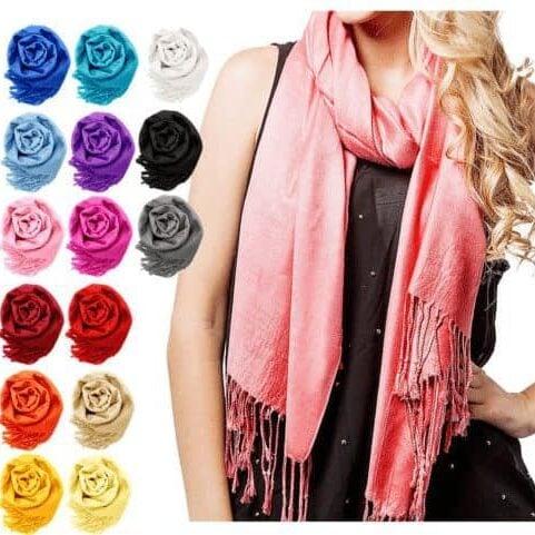 Women Soft Silk Pashmina