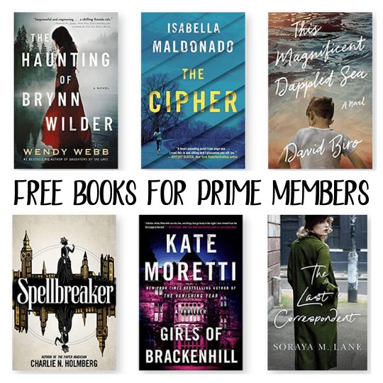 free books prime oct