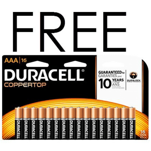 free duracell