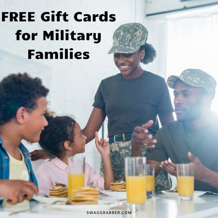 FREE Gift Cards for Military Families