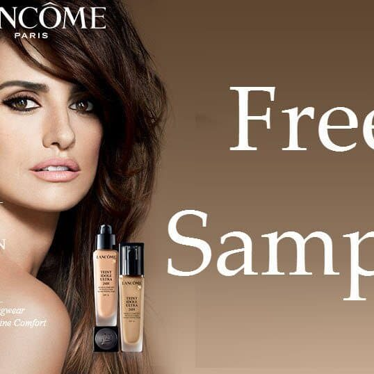 lancome free sample