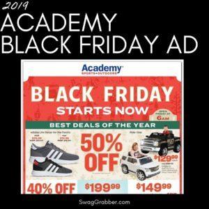 2019 Academy Black Friday Ad Scan