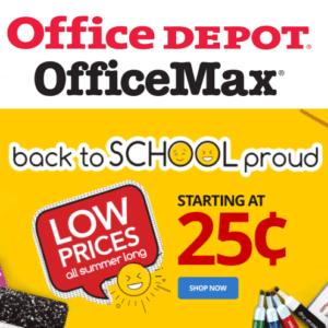 School Supplies Deals