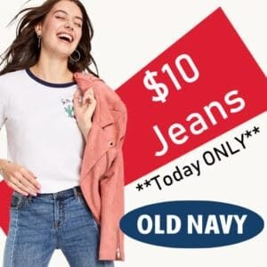 on jeans