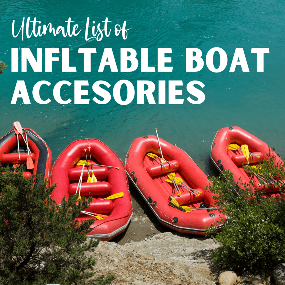 Inflatable Boat Accesories
