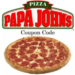 papa johns coupon code