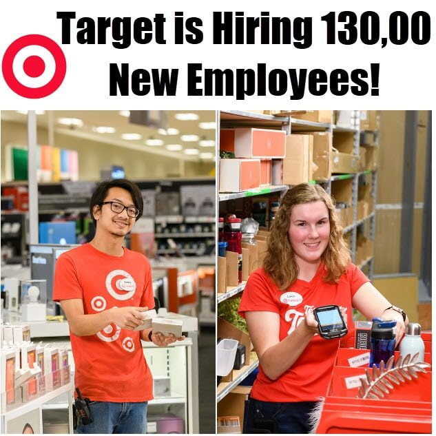 target 130000 new employees