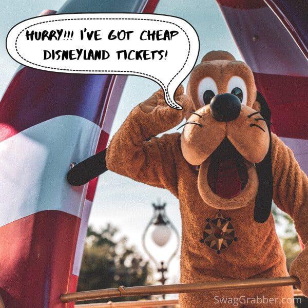cheap disneyland tickets